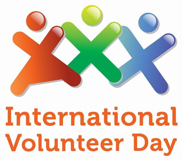 「▲国際ボランティア・デーイラスト」の画像検索結果